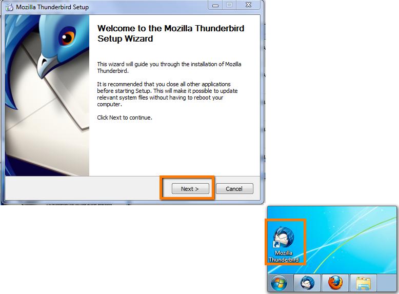 thunderbird 2 - Support