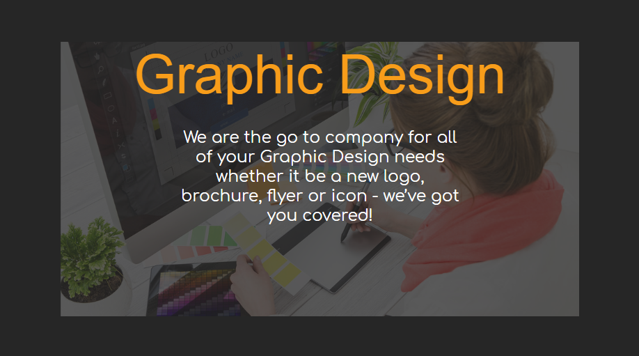 Graphic Design - Our Packages Explained