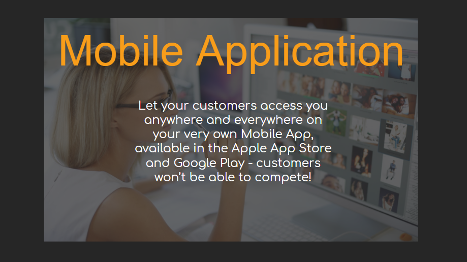 Mobile Application - Our Packages Explained