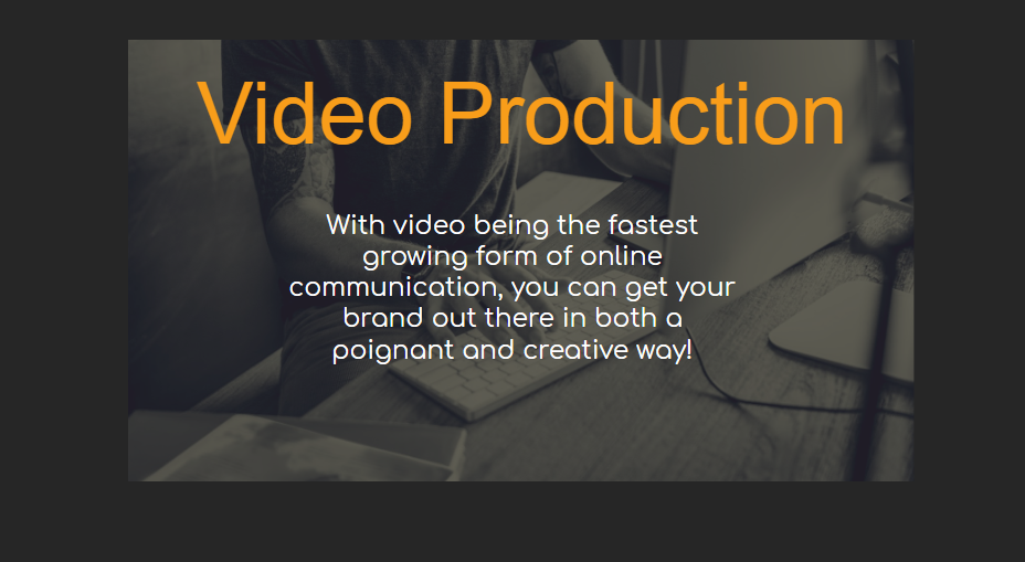 Video Production - Our Packages Explained