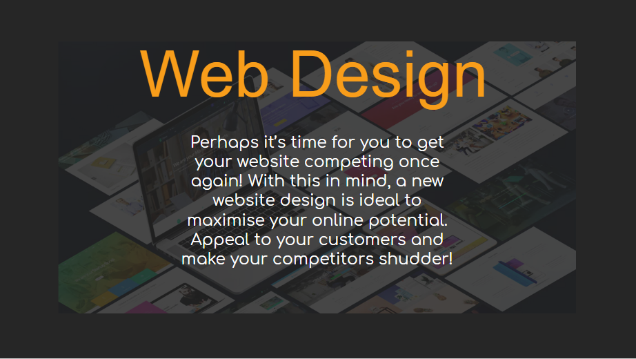 Web Design - Our Packages Explained