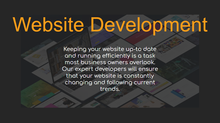 Website Development - Our Packages Explained