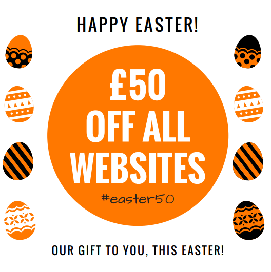 Capture Copy - This Easter You Could Receive £50 Off Your New Website!